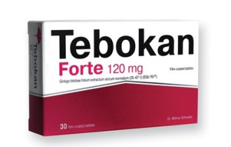 ТЕБОКАН ФОРТЕ 120мг. филмирани таблетки 30бр. | TEBOKAN ФОРТЕ 120mg film-coated tablets 630s