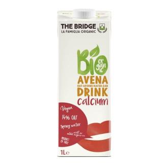 ДЪ БРИДЖ БИО Овесена напитка с Калций 1л | THE BRIDGE BIO Oat drink with Calcium 1l