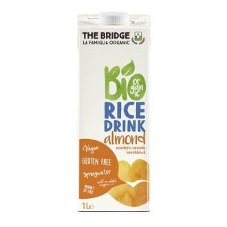 ДЪ БРИДЖ БИО Оризова напитка с Бадем БЕЗ ГЛУТЕН 250мл или 1л | THE BRIDGE BIO Rice drink with Almond GLUTEN FREE 250ml or 1l