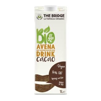 ДЪ БРИДЖ БИО Овесена напитка с Какао 1л | THE BRIDGE BIO Oat drink with Cocoa 1l