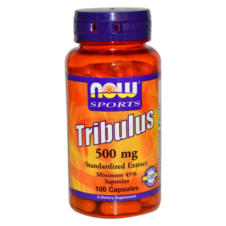 БАБИНИ ЗЪБИ 500мг капсули 100 бр. НАУ ФУУДС | TRIBULUS 500mg caps 100s NOW FOODS