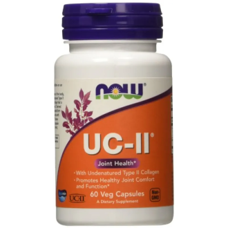 UC-II ТИП II КОЛАГЕН 40мг капсули 60 бр. НАУ ФУУДС | UC-II TYPE II COLLAGEN 40mg caps 60s NOW FOODS