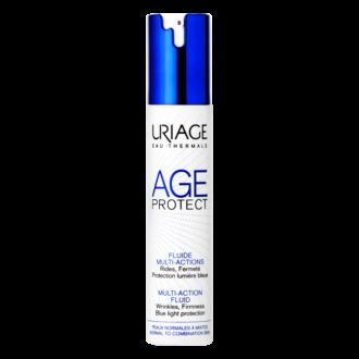 ЮРИАЖ ЕЙДЖ ПРОТЕКТ Мултифункционален флуид против стареене 40мл   URIAGE AGE PROTECT Multi-action fluid 40ml