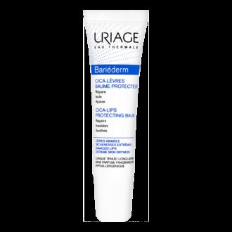 ЮРИАЖ БАРИЕДЕРМ ЦИКА Възстановяващ балсам за устни 15мл | URIAGE BARIEDERM CICA-Lips repairing balm 15ml