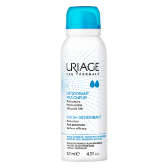 ЮРИАЖ Дезодорант аерозол 125 мл | URIAGE Fresh deodorant 125ml