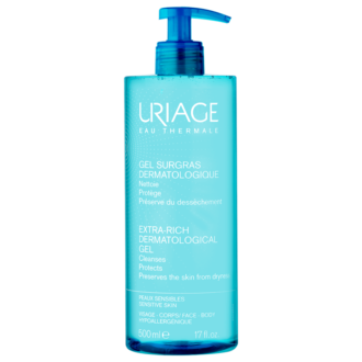 ЮРИАЖ Богат почистващ душ-гел 500мл | URIAGE Extra-rich dermatological gel 500ml