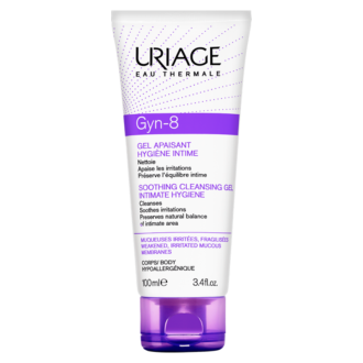 ЮРИАЖ ГИН-8 Интимен успокояващ гел при раздразнения 100мл | URIAGE GYN-8 Soothing cleansing gel for intimate hygiene 100ml