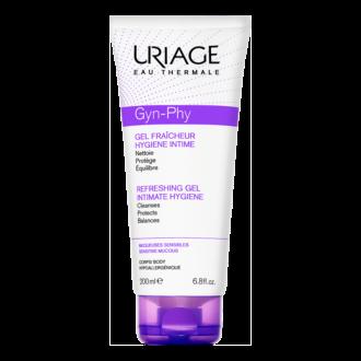 ЮРИАЖ ГИН-ФИ Интимен освежаващ гел 200мл | URIAGE GYN-PHY Intimate hygiene refreshing gel 200ml