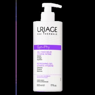 ЮРИАЖ ГИН-ФИ Интимен освежаващ гел 500мл | URIAGE GYN-PHY Intimate hygiene refreshing gel 500ml