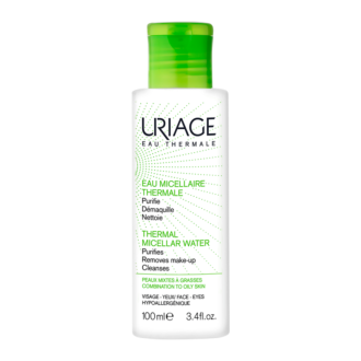 ЮРИАЖ Термална мицеларна вода за комбинирана към мазна кожа 100мл | URIAGE Thermal micellar water for mixed to oily skin 100ml
