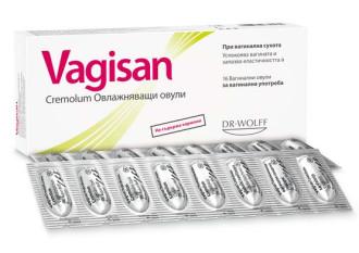 ВАГИЗАН овлажняващи овули 16бр. | VAGISAN Cremolum Moisturizing ovules 16s