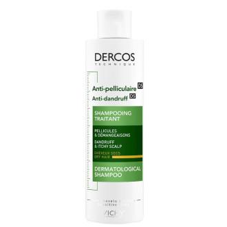 ВИШИ ДЕРКОС Шампоан против пърхот за суха коса 200мл | VICHY DERCOS Shampoo anti-dandruff advanced action dry hair 200ml