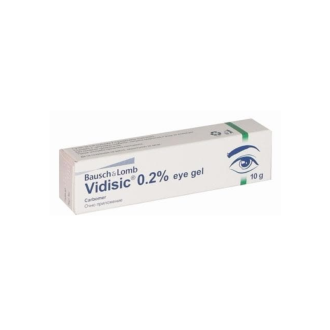 ВИДИЗИК 2,5мг/гр гел за очи 10гр | VIDISIC 2,5mg/g eye gel 10g