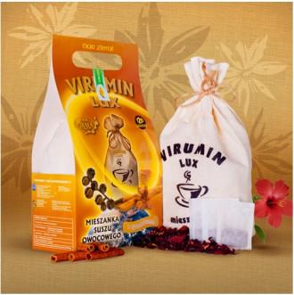 ВИРУМИН-ЛУКС с канела, филтърни торбички 120бр x 2.5г (300гр общо) ПВМ ГАМА | VIRUMIN-LUX with cinnamon, filter bags 120s x 2.5g (300g total) PWM GAMA