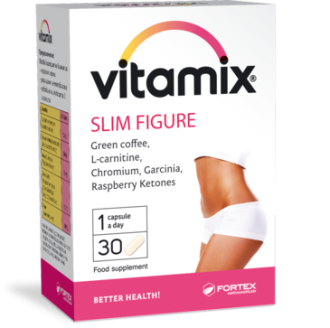 ВИТАМИКС ЗА СТРОЙНА ФИГУРА 30 капсули ФОРТЕКС | VITMIX SLIM FIGURE 30 caps FORTEX