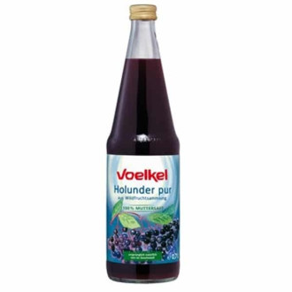 ВОЕЛКЕЛ БИО Сок от Бъз (плод) 700мл | VOELKEL BIO Elder Juice 700ml