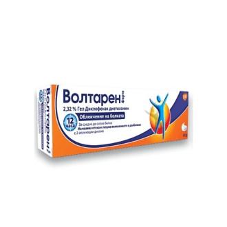 ВОЛТАРЕН ФОРТЕ гел 50гр., 150гр. | VOLTAREN FORTE gel 50g, 150g
