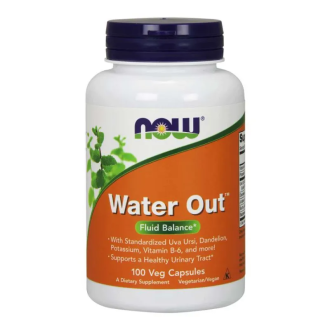 УОТЪР АУТ 100 капс. НАУ ФУУДС   WATER OUT 100 caps. NOW FOODS