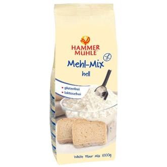 Бяло брашно Микс, без глутен 1кг ХАМЕРМИЛ | BIO White flour Mix, gluten free 1kg HAMMERMÜHLE