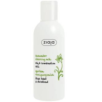 ЖАЯ Почистващо мляко за лице с краставица 200мл | ZIAJA Cleansing milk cucumber 200ml
