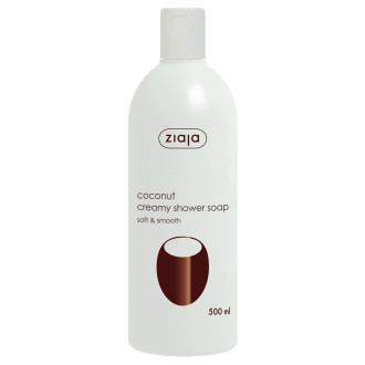 ЖАЯ Кремообразен душ гел с кокос 500мл | ZIAJA Coconut creamy shower soap 500ml
