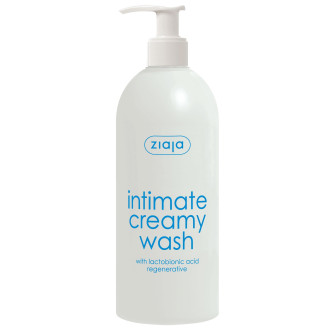 ЖАЯ Интимен кремообразен душ гел с лактобионова киселина 500мл | ZIAJA Intimate creamy wash with lactobionic acid 500ml