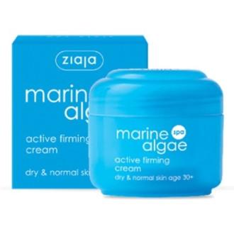 ЖАЯ Стягащ крем за лице 30+ с Морски водорасли 50мл   ZIAJA Active firming cream 30+ with Marine algae 50ml