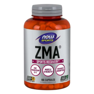 ЗМА® капсули 180 бр. НАУ ФУУДС | ZMA® caps 180s NOW FOODS