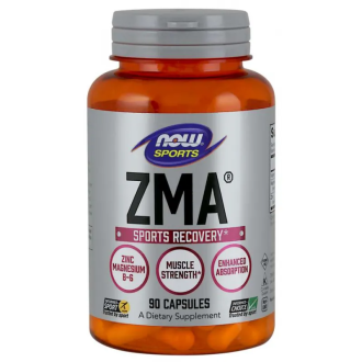 ЗМА® 800мг капсули 90 бр. НАУ ФУУДС | ZMA® 800mg caps 90s NOW FOODS