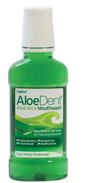ОПТИМА АЛОЕДЕНТ Вода за уста АЛОЕ ВЕРА 250мл | OPTIMA ALOEDENT Mouthwash ALOE VERA 250ml