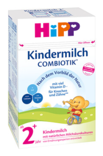 ХИП 2+ КОМБИОТИК Мляко за малки деца 600гр | HIPP 2+ COMBIOTIC Growing up milk 600g