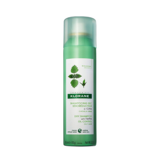 КЛОРАН Сух шампоан с коприва 150мл | KLORANE Dry shampoo with nettle 150ml