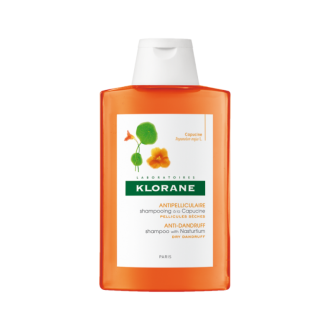 КЛОРАН Шампоан с екстракт от латинка против сух пърхот 200мл | KLORANE Anti-dry dandruff Shampoo with Nasturtium 200ml