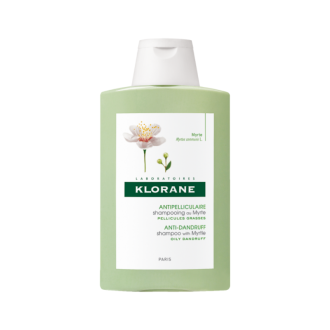 КЛОРАН Шампоан с мирта против мазен пърхот 200мл | KLORANE Anti-dandruff Shampoo with Myrtle 200ml