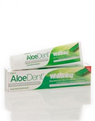 ОПТИМА АЛОЕДЕНТ Избелваща паста за зъби 100мл | OPTIMA ALOEDENT Toothpaste whitening 100ml