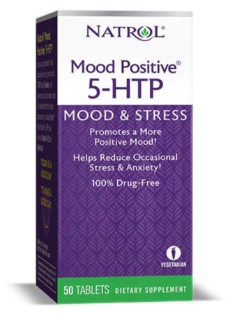 5-ХТФ - добро настроение 50 табл. НАТРОЛ | 5-HTP - Mood Positive 50 tabs NATROL