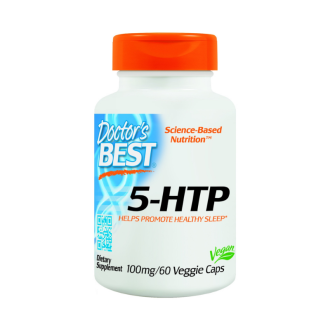 5-ХИДРОКСИ-Л-ТРИПТОФАН 100мг 60капс. ДОКТОРС БЕСТ | 5-HTP 100mg 60caps DOCTOR'S BEST