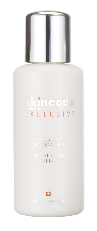 СКИНКОД ЕКСКЛУЗИВ Клетъчно почистващо мляко 200мл | SKINCODE EXCLUSIVE Cellular cleansing milk 200ml
