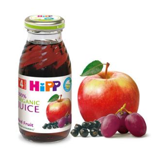ХИП БИО Сок от червени плодове 4+ м. 200мл. | HIPP BIO Organic juice red fruit 4+ m 200ml