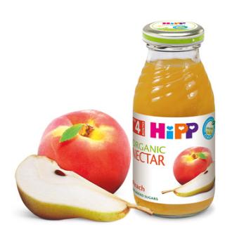 ХИП БИО Нектар от праскови с круши 4+ м. 200мл. | HIPP BIO Organic nectar peach and pear 4+ m 200ml