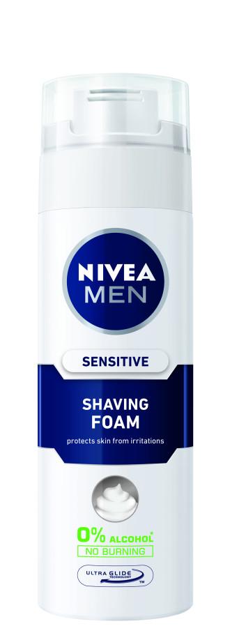 НИВЕА МЕН СЕНЗИТИВ Пяна за бръснене 200мл | NIVEA MEN SENSITIVE Shaving foam 200ml