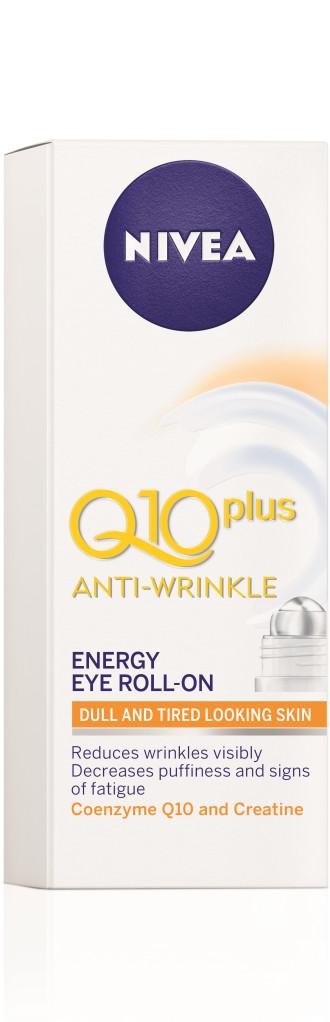 НИВЕА Q10+ Околоочен рол-он с енергизиращо действие 10мл | NIVEA Q10+ Anti-wrinkle energy eye roll-on 10ml