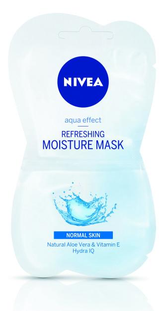 НИВЕА Интензивно овлажняваща маска за нормална кожа 2x7.5мл | NIVEA Moisture mask 2x7.5мл