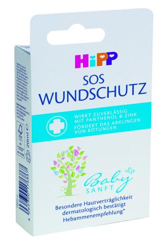 ХИП БЕЙБИЗАНФТ SOS крем при налично подсичане 20мл | HIPP BABYSANFT SOS diaper rash cream 20ml