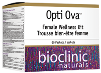 ОПТИ ОВА ФЕРТИЛИТЕТ ФОРМУЛА ЗА ЖЕНИ пакетчета 60бр БИОКЛИНИК НАТУРАЛС | OPTI OVA FEMALE WELLNESS KIT packs 60s BIOCLINIC NATURALS