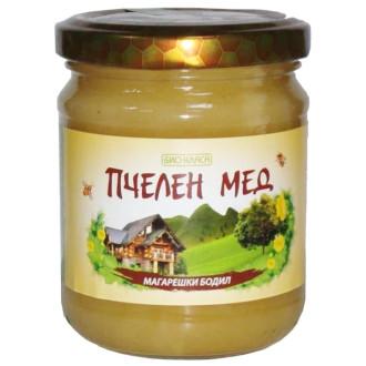 БИО Пчелен мед от Магарешки бодил 275гр или 500гр БИО КЛАСА | BIO Thistle honey 275g or 500g BIO KLASA