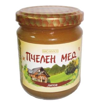 БИО Пчелен мед от Липа 275гр или 500гр БИО КЛАСА | BIO Linden honey 275g or 500g BIO KLASA