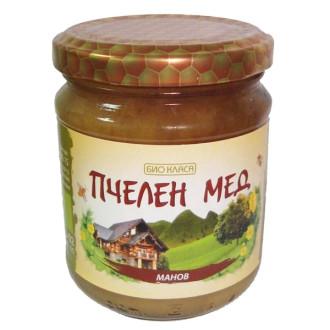 БИО Пчелен мед Манов 275гр или 500гр БИО КЛАСА | BIO Dew honey 275g or 500g BIO KLASA