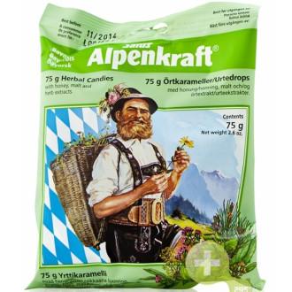 Билкови бонбони Alpenkraft 75гр ФЛОРАДИКС | Herbal candy Alpenkraft 75g FLORADIX