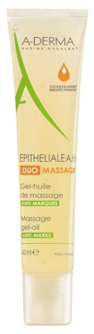 А-ДЕРМА ЕПИТЕЛИАЛ А.H. ДУО Масажно гел-олио 40мл | A-DERMA EPITHELIALE A.H. DUO Massage gel-oil 40ml